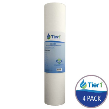 P5-20BB Tier1 Whole House Sediment Water Filter (4-Pack)
