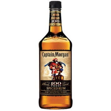 Captain Morgan Black Cask 100 Proof Spiced Rum