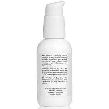 Amara Organics Anti Aging Face Cream Moisturizer with Resveratrol & Peptides, 2 fl. oz.