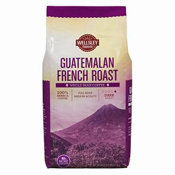 Wellsley Farms French Roast Guatemalan Whole Bean Coffee, 40 oz.