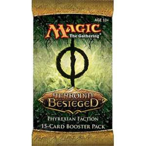 Wizards Of The Coast Magic The Gathering Mirrodin Besieged Booster Pack [Phyrexian Faction]