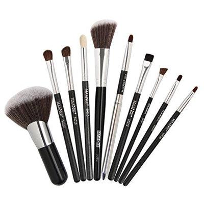 Tsmile Hot 10 Pieces Makeup Brush Set Professional Face Eye Shadow Eyeliner Foundation Blush Lip Makeup Brushes Powder Liquid Cream Cosmetics Blending Brush Tool