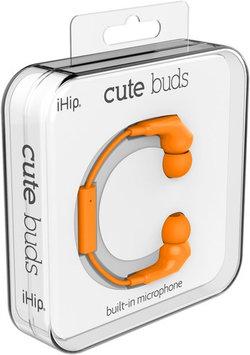 Zeikos Orange Cute Earphones W/Mic
