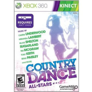 Gamemill Entertainment Xbox 360 Kinect Country Dance All Stars
