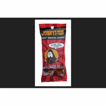 Johnny Almond Nut Company Heat and Eat Sriracha Cashews 2-1/2 oz. Bag