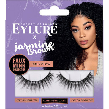 X Jasmine Brown Faux Glo Lashes