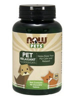 Pet Relaxant (For Cats and Dogs) Now Foods 90 Lozenge