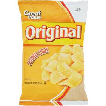 Great Value: Original Potato Chips, 12 Oz
