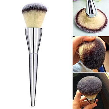 1 Piece Makeup Brush Set Powder Cosmetics Soft Face Make Up Tool Foundation Natural Beauty Palettes Eyeshadow Vanity Alluring Popular Eyes Colorful Rainbow Hair Highlights Glitter Teens Travel Kit