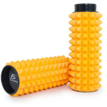 ProSource Premium Spike Bumps 2-in-1 Sports Massage Trigger Point Foam Roller w/Grid 24