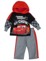 Disney Cars Lightning McQueen Infant & Toddler Boys Hoodie & Pant Set 12m