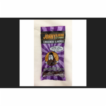 Johnny Almond Nut Company Heat and Eat Cinnamon Almonds 2-1/2 oz. Bag