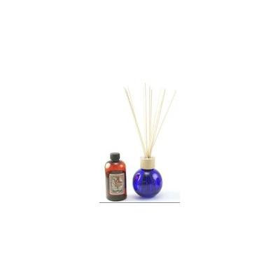 COBALT BLUE 8.5 Ounce Ball Reed Diffuser - 8 Ounces of Fragrance - Courtneys Candles - CREMEE BRULEE