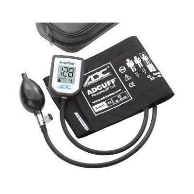 ADC E-SPHYG Digital Aneroid Sphygmomanometer, Adult, Black