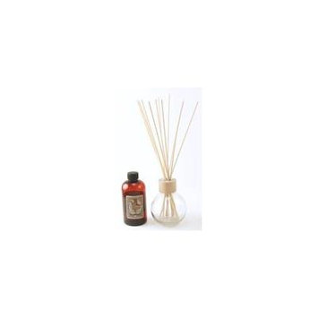 CLEAR 8.5 Ounce Ball Reed Diffuser - 8 Ounces of Fragrance - Courtneys Candles - AHEAD OF THE STORM