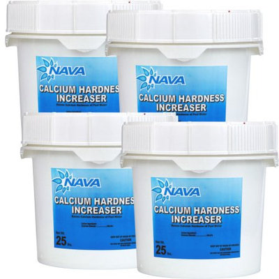 Nava Calcium Hardness Increaser - (4) 25 lb. Buckets