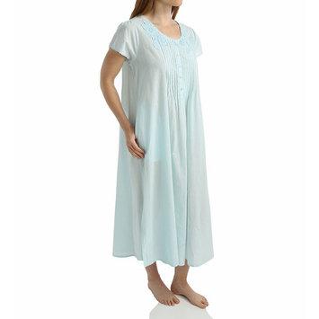 Women's La Cera 1275G 100% Cotton Woven Lace Applique Ballet Gown