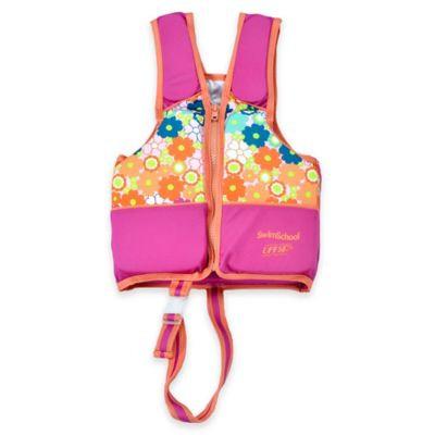 Aqua Leisure SwimSchool Girls Pink Swim Vest - Small/Medium - Phase 2