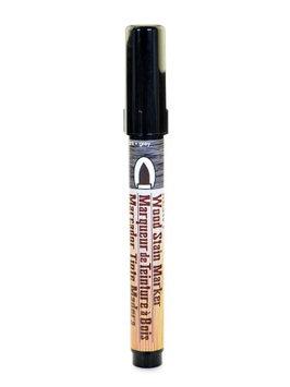Marvy Uchida Wood Stain Markers brush tip, grey [pack of 6]