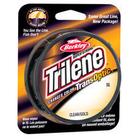 Berkley Trilene TransOptic Monofilament Fishing Line - Gold (220 YD)