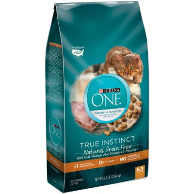 PURINA ONE® True Instinct Natural Grain Free With Real Chicken Plus Vitamins & Minerals Super Premium Cat Food