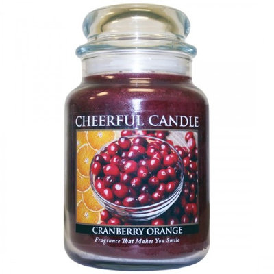 A Cheerful Candle CC77 CRANBERRY ORANGE 24OZ - Pack of 2