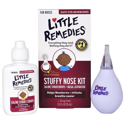Little Remedies® Decongestant Nose Drops