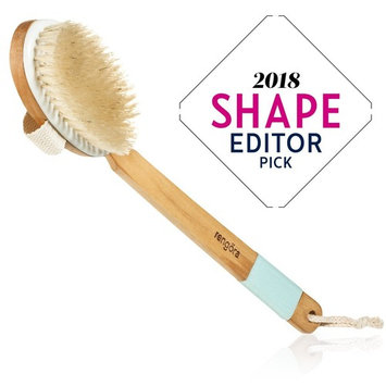 Dry Brushing Body Brush - Exfoliating Brush for Skin Care - Best for Massage, Dry Skin, Removing Dead Skin, Lymphatic Drainage, and Cellulite Treatment. Achieve...