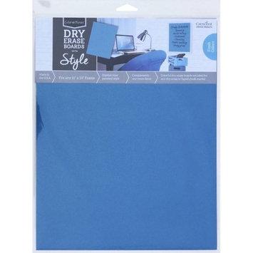Crescent Cardboard Co Color Notes Dry Erase Board, 11' x 14', Blue