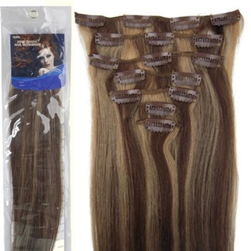 20''7pcs Fashional Clips in Remy Human Hair Extensions 24 Colors for Women Beauty Hot Sale