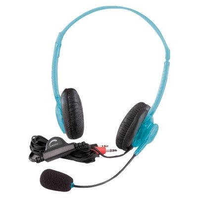 Califone International 3064Av-Bl Multimedia Stereo Headsets - Blueberry Color