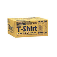 T-Shirt Carryout Bags- Thank You/Gracias - 1000 ct.