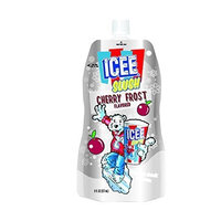Icee Slush Pouches Case, Cherry Frost, 24 Count [Cherry]