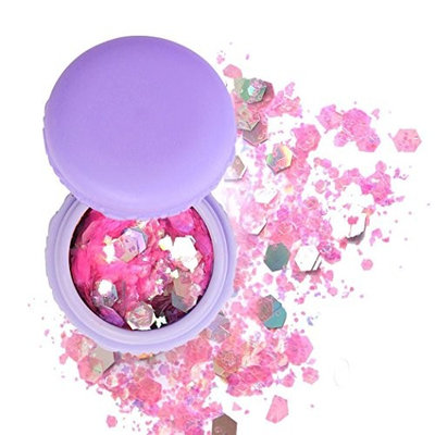 Goldenfox Face Body Hair Nail Glitter Sequins Powder Party Beauty Makeup Cosmetics Body Glitter
