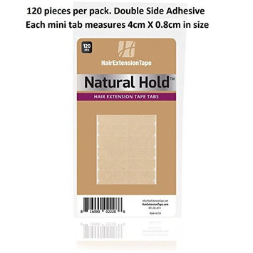 Natural Hold Extension Tape Tabs 120-pcs