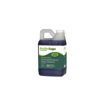 ProVetLogic V01.5MN Animal Facility Disinfectant Pack 4 0.50 Gallon ProLoc Dispenser Bottle
