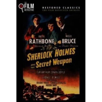 Fye Sherlock Holmes & the Secret Weapon DVD