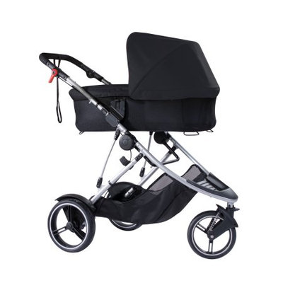 Phil and Teds Dash Snug Carrycot in Black