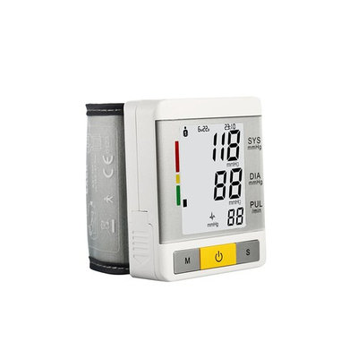 FAM-health Automatic Wrist Blood Pressure Monitor FDA Approved with Portable Case, Two User Modes, Adjustable Wrist Cuff,IHB Indicator and 90 Memory Recall [2017