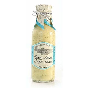 Braswells Tangy Lemon Caper Sauce, 12 Fluid Ounce