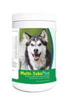 Healthy Breeds 840235122272 Alaskan Malamute Multi-Tabs Plus Chewable Tablets - 365 Count