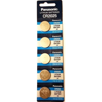 Panasonic CR2025 18x Specialist Lithium Coin Batteries