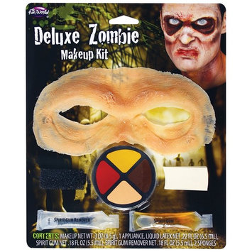 Fun World® Deluxe Zombie Makeup Kit 6 pc Carded Pack