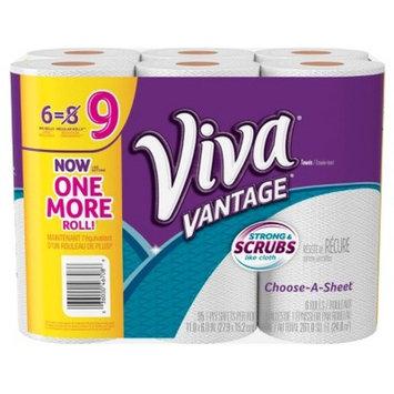 Viva Vantage Choose-a-Sheet Paper Towels - 6 Big Rolls