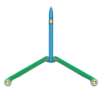 Spyderco BaliYo Pen - Green and Blue