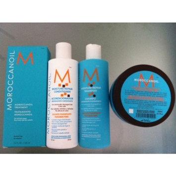 Moroccanoil Oil Treatment (3.4 oz), Moisture Repair Shampoo (8.5 oz), Moisture Repair Conditioner (8.5oz) and Intense Hydrating Mask (8.5 oz) Combo Set