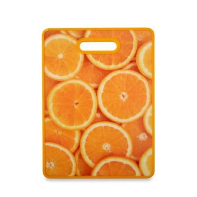 Citrus Fruit and Veggie Cutting Board