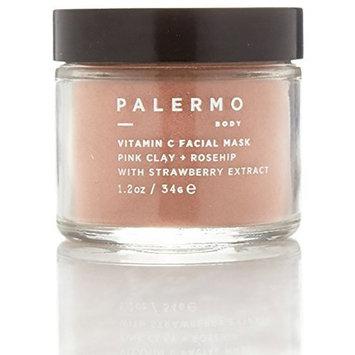 Palermo Body - All Natural Vitamin C Facial Mask - Pink Clay + Rosehip (1.2 oz / 34 g)