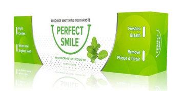 Perfect Smile Fluoride Toothpaste Quality of Life Labs 4.2 oz Tube