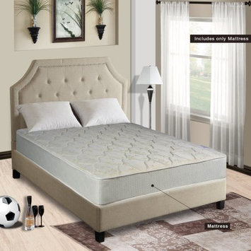Comfort Bedding Continental Mattress, 9-Inch Fully Assembled Gentle Firm Gentle Firm Orthopedic Back Support Twin Mattress, Hollywood Collection